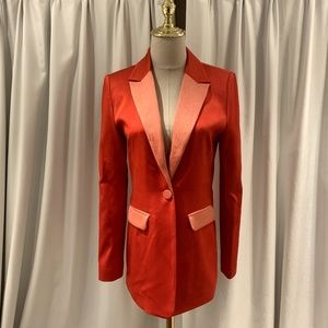 a7922e98a021f Alexis Jackets & Coats - New 2019 alexis nevra satin single button blazer